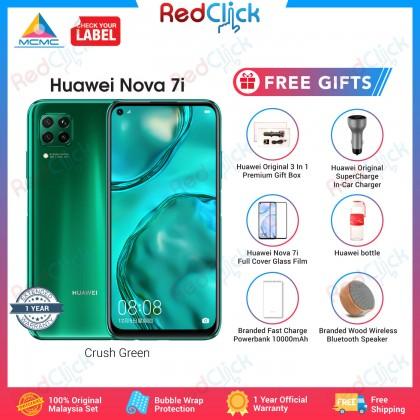 Huawei Nova 7i (8GB/128GB) Original Huawei Malaysia Set + 6 Free Gift Worth RM299
