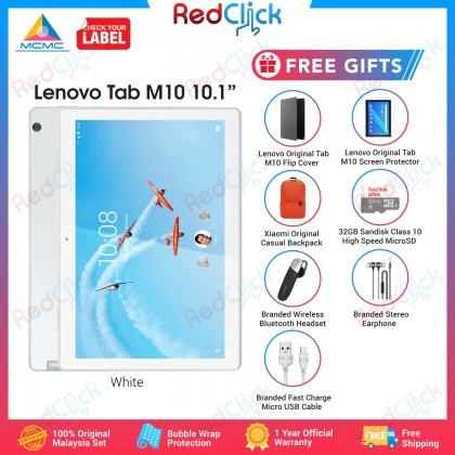 "Lenovo Tab M10 10.1"" /TB-X505I (2GB/16GB) Original Lenovo Malaysia Set + 7 Free Gift Worth RM299"