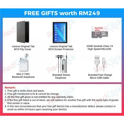 "Lenovo Tab M10 10.1"" /TB-X505I (2GB/16GB) Original Lenovo Malaysia Set +  6 Free Gift Worth RM249"