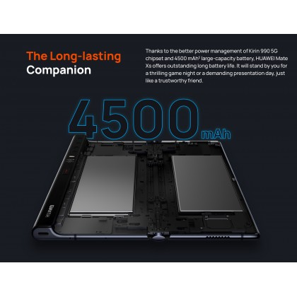 Huawei Mate Xs 5G (8GB/512GB) Original Huawei Malaysia Set + 3 Free Gift Worth RM1669