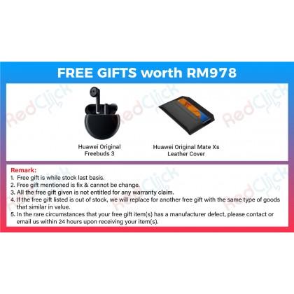 Huawei Mate Xs 5G (8GB/512GB) Original Huawei Malaysia Set + 2 Free Gift Worth RM978