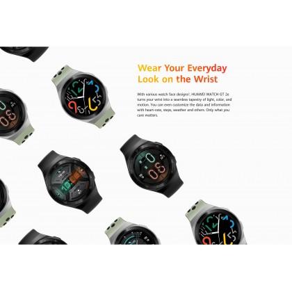 "Huawei Watch GT 2e (HCT-B19) 1.39"" AMOLED Bluetooth 5.0 5 ATM Water Resistance Sport Smart Watch + Free Gift"