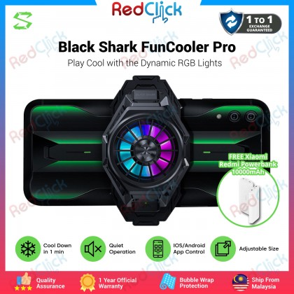 Xiaomi Black Shark Fast Cooling FunCooler Pro with LED Light Apps Control + Free Gift