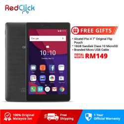 "Alcatel Pixi 4 (7"") / 9003X (1GB/8GB) Original Alcatel Malaysia Set + 3 Free Gift Worth RM149"
