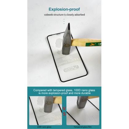 Atouchbo Apple iPhone 11/ 11 Pro/ 11 Pro Max/ Xr/ Xs/ Xs Max 100D Elegant Arc Edge Nano Anti-Shock Glass Film