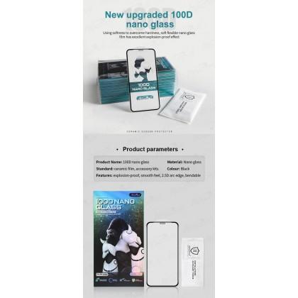 Atouchbo Honor 9x /9x Pro /Y9 Prime /Y9s 100D Elegant Arc Edge Nano Anti-Shock Glass Film