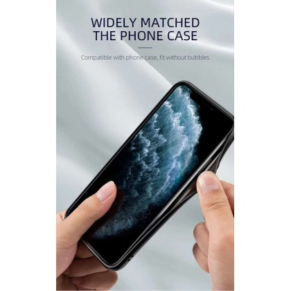 Atouchbo iPhone 11 /11 Pro /11 Pro Max /12 mini /12 /12 Pro /12 Pro Max Anti-Bacterial High-Quality Full Coverage Tempered Glass