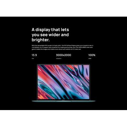 Huawei MateBook X Pro/MACHC-WAE9LP (i7 10th Gen/16GB RAM/1TB SSD/Mx 250 Graphic/Touch Screen) Original Huawei Malaysia Set + 5 Free Gift Worth RM1599