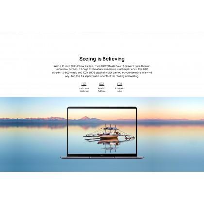 Huawei MateBook 13 i5/i7/WRTB-WFH9L (10th Gen/16GB RAM/512GB SSD/MX 250 Graphic/Touch Screen) Original Huawei Malaysia Set + 4 Free Gift Worth RM499