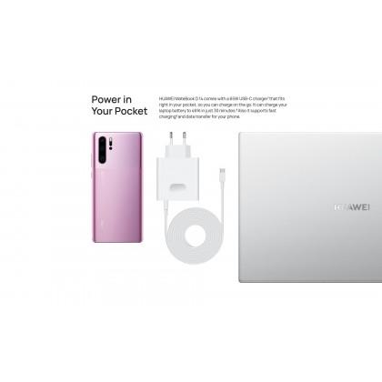 Huawei MateBook D14 R7 /NBL-WAP9R (R7 Processor/8GB RAM/512GB SSD/Vega 10 Graphic) Original Huawei Malaysia Set + 3 Free Gift Worth RM599
