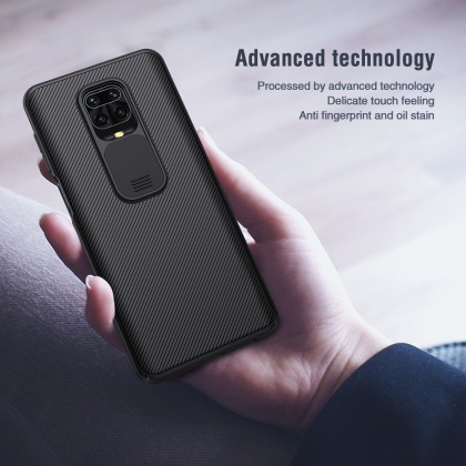 Nillkin Xiaomi Redmi Note 9 Pro /Note 9 Pro Max /Note 9s CamShield Slide Cover For Camera Protection Back Case
