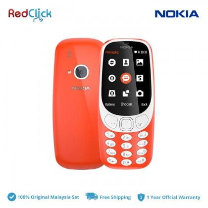 Nokia 3310 (3G) Original Nokia Malaysia Set