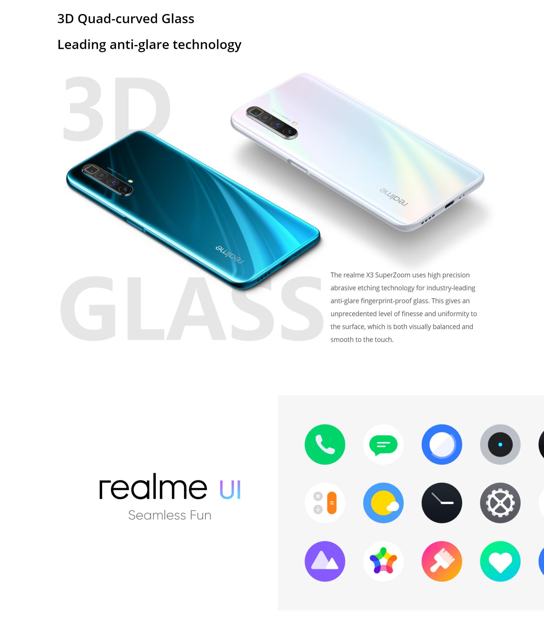 Realme X3 Super Zoom 12gb 256gb Original Realme Malaysia Set 6