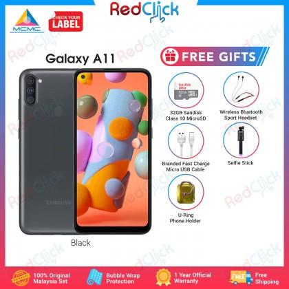 Samsung Galaxy A11 (3GB/32GB) Original Samsung Malaysia Set + 5 Free Gift Worth RM89