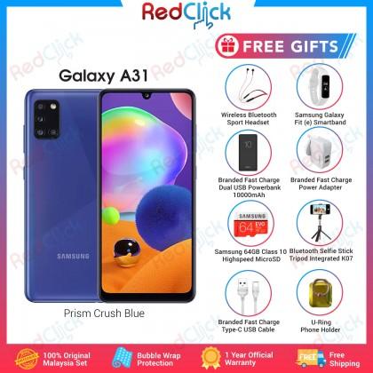Samsung Galaxy A31 (6GB/128GB) Original Samsung Malaysia Set + 8 Free Gift Worth RM299