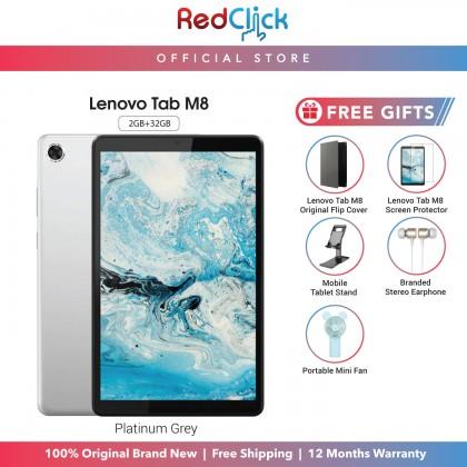 Lenovo Tab M8 /tb-8505x (2GB/32GB) Original Lenovo Malaysia Set + 5 Free Gift Worth RM119