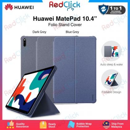 "Huawei Matepad 10.4"" Folio Stand Cover Case Slim Lightweight Protective Smart Auto Wake Sensor Flip Cover"