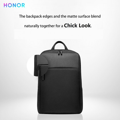 "Honor AD60 Laptop Travel Fashion Protective Backpack Lightweight Waterproof Design Bag Fit for Carry 16"" Laptop"