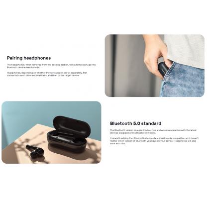 Nillkin TWS Wireless Bluetooth 5.0 FreePods Earphones Touch Sensor 20 Hours Playtime Earbuds