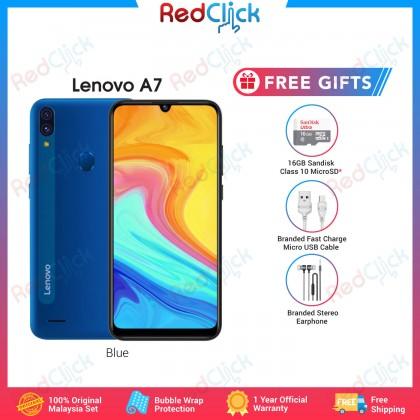 Lenovo A7 /L19111 (2GB/32GB)(4GB/64GB) Original Lenovo Malaysia Set + 3 Free Gift Worth RM49