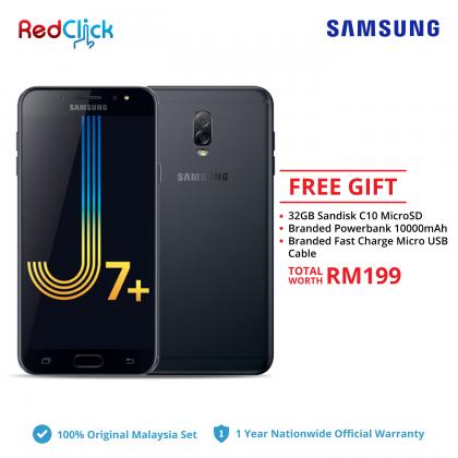 Samsung Galaxy J7+ / C710F (4GB/32GB) Original Samsung Malaysia Set + 3 Free Gift Worth RM199
