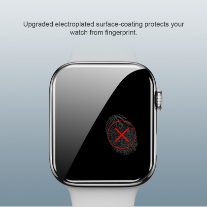 Nillkin Apple Watch 40mm/44mm Watch SE /Series 4/5/6 3D AW+ 9H Full Coverage Screen Tempered Glass -  Anti-Explosion