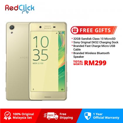 Sony Xperia X / F5122 (3GB/64GB) Original Sony Malaysia Set + 4 Free Gift Worth RM299