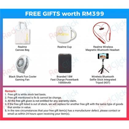 Realme X50 Pro 5G (12GB/256GB) Original Realme Malaysia Set + 6 Free Gift Worth RM399