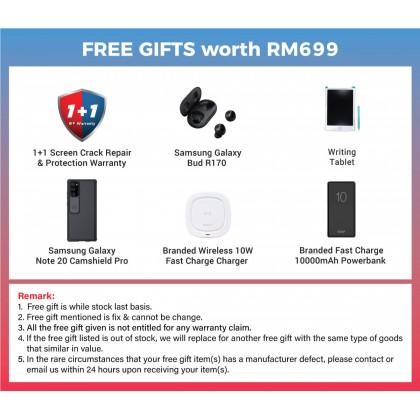 Samsung Galaxy Note 20 5G / N981b (8GB/256GB) Original Samsung Malaysia Set + 6 Free Gift Worth RM 699