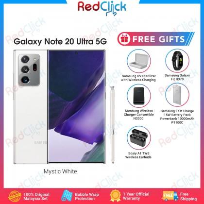 Samsung Galaxy Note 20 Ultra 5G / N968b (12GB/256GB) Original Samsung Malaysia Set + 5 Free Gift Worth RM1100