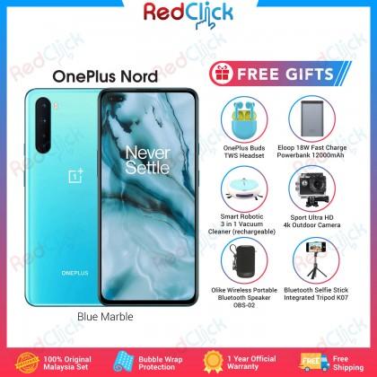 OnePlus Nord 5G (12GB/256GB) Original OnePlus Malaysia Set + 6 Free Gift Worth RM599
