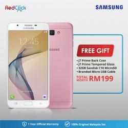 Samsung Galaxy J7 Prime / g610f (3GB/32GB) Original Samsung Malaysia Set + 4 Free Gift RM199