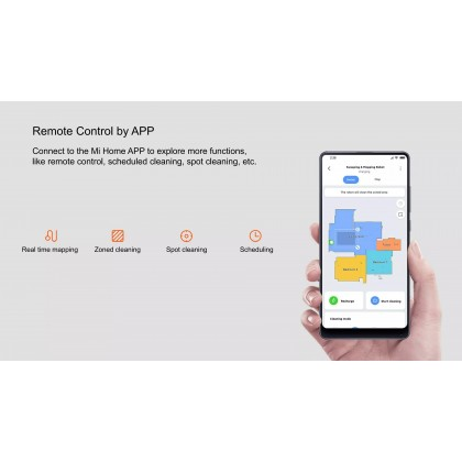 Xiaomi Mi Robot Vacuum-Mop Pro /STYTJ02YM Global Version Laser Smart Navigation All-in-one Robotic