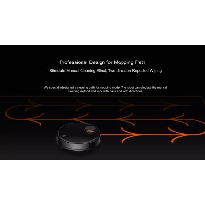 Xiaomi Mi Robot Vacuum-Mop Pro /STYTJ02YM Global Version Laser Smart Navigation All-in-one Robotic + Free Gift