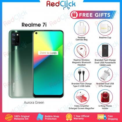 Realme 7i (8GB/128GB) Original Realme Malaysia Set + 8 Free Gift Worth RM299