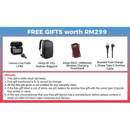 Lenovo Legion Phone Duel 5G (12GB/256GB)(16GB/512GB) Original Lenovo Malaysia Set + 4 Free Gift Worth RM299