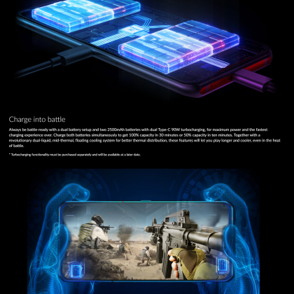 Lenovo Legion Phone Duel 5G (12GB/256GB)(16GB/512GB) Original Lenovo Malaysia Set + 5 Free Gift Worth RM599