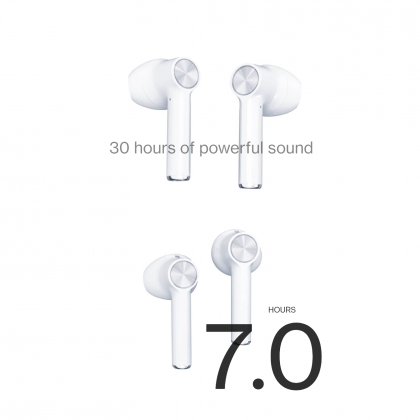 OnePlus Buds Wireless Bluetooth 5.0 Environmental Noise Cancellation Low Latency Mode Earbuds