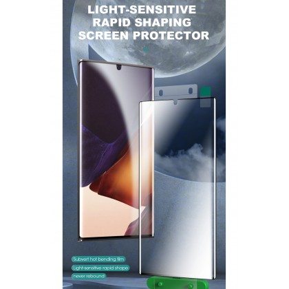 Atouchbo 99D Samsung Note 20 Ultra Light Sensitive Nano Glass Film Exclusive For Curved Screen Easy Stick