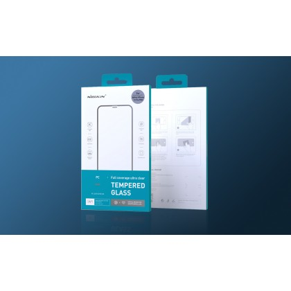 Nillkin Apple iPhone 12 Mini /12 /12 Pro /12 Pro Max PC 3D Full Coverage 0.25mm Ultra Clear 9H Hardness Tempered Glass
