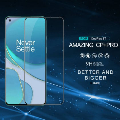 Nillkin OnePlus 8T CP+ Pro 9H Full Coverage Screen Tempered Glass -  Anti-Explosion