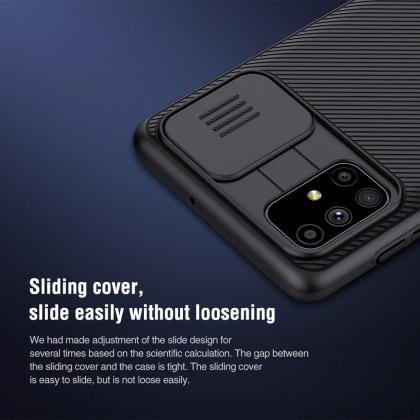 Nillkin Samsung Galaxy M51 CamShield Slide Cover For Camera Protection Back Case