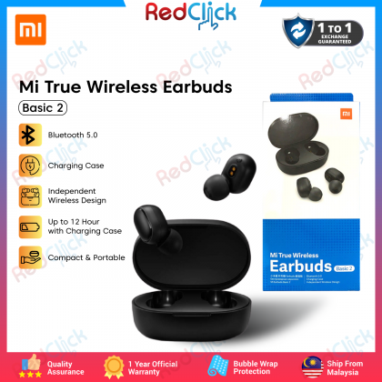 Xiaomi Mi True Wireless Earbuds Basic 2 /BHR4272GL Support Siri Google Assistant Bluetooth 5.0 with Charging Case Original Xiaomi Product