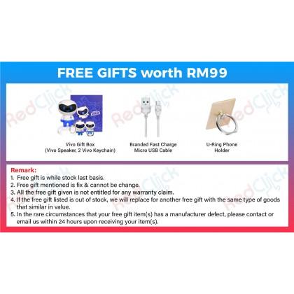 VIVO Y12s (3GB/32GB) Original VIVO Malaysia Set + 3 Free Gift Worth RM99