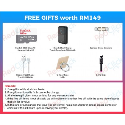 Samsung Galaxy A02s (4GB/64GB) Original Samsung Malaysia Set + 6 Free Gift Worth RM149