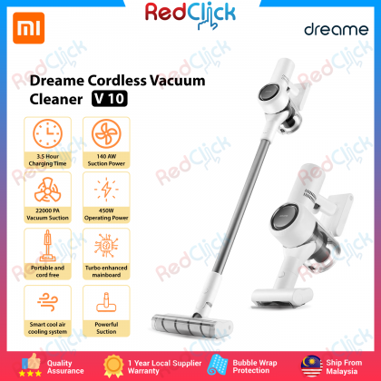 Xiaomi Dreame V10 22K Pa Cordless Vacuum Cleaner Adjustable Length Vacuum Cleaner Global Set