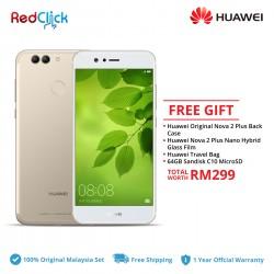 Huawei Nova 2 Plus / BAC-L22 (4GB/128GB) Original Huawei Malaysia Set + 4 Free Gift Worth RM299