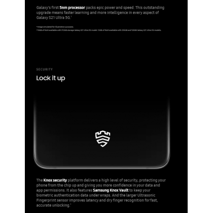 Samsung Galaxy S21 Ultra 5G /g998b (12GB/256GB)(16GB/512GB) Original Samsung Malaysia Set + 4 Free Gift Worth RM499