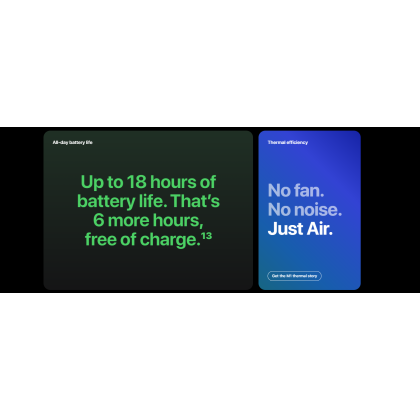 "Apple MacBook Air 13"" 2020 /A2337 Apple M1 Chip with 8‑Core CPU and 7‑Core GPU 256GB SSD Storage Original Apple Set"