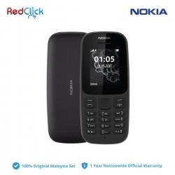 Nokia 105 (2017) (Dual Sim) Original Nokia Malaysia Set